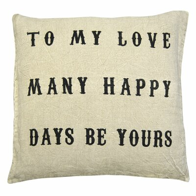 Sugarboo Designs To My Love Pillow