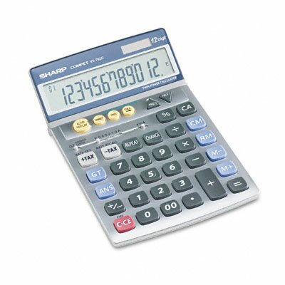 VX-792C Compact Desktop Calculator, 12-Digit LCD