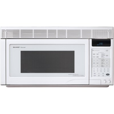 1.1 Cu. Ft. 850 Watt Over the Range Convection Microwave Oven in Watthite