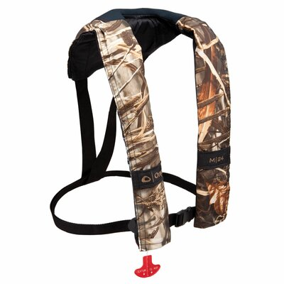 M 24 Manual Camouflage Inflatable Life Jacket