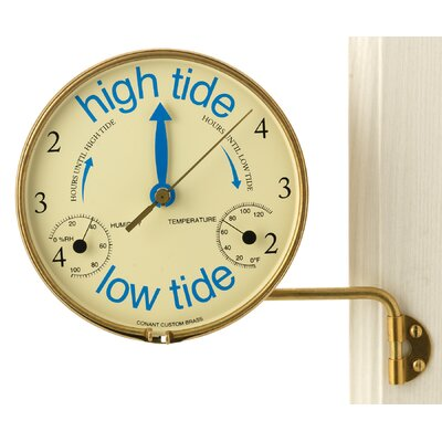 "Weems and Plath Veranda 7.2"" Wall Clock"