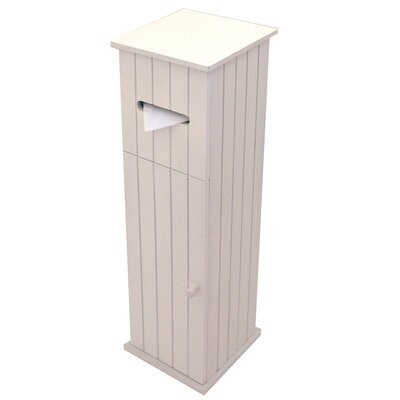 Freestanding cabinet wayfair uk for Loo roll storage