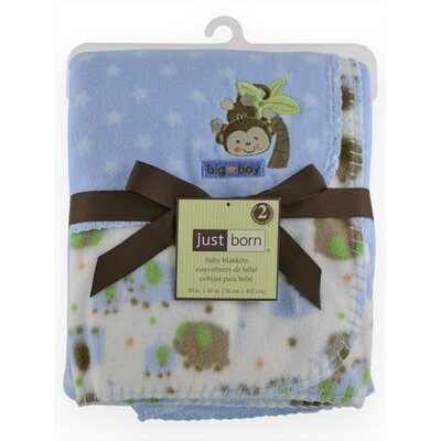 Triboro Just Born 2 Pack Fleece Blanket