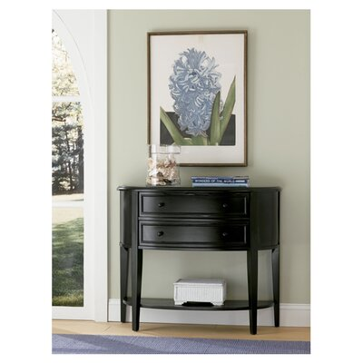 Powell Furniture Demilune Console Table