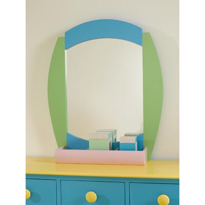 Powell Furniture Sunday Funnies Dresser Mirror