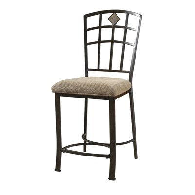 Powell Furniture Jefferson Counter Bar Stool with Cushion