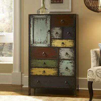 Powell Furniture Parcel 11 Drawer Accent Chest