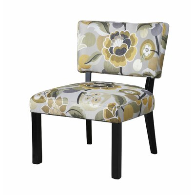 Powell Furniture Floral Slipper Chair