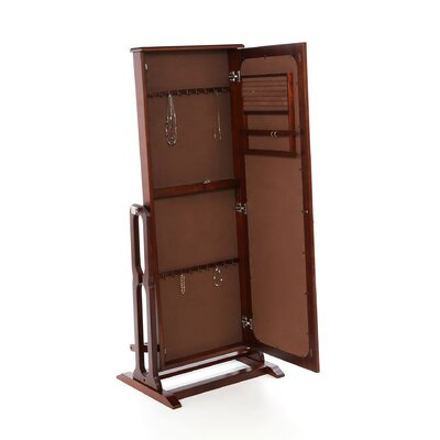 Powell Furniture Marquis Cherry Cheval Jewelry Armoire