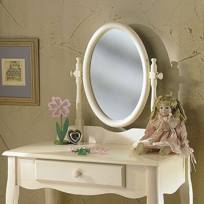 "Powell Furniture 28"" Children's Bedroom Vanity Set"