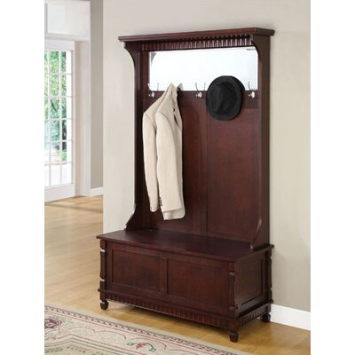 Powell Furniture Entryway Hall Tree & Reviews | Wayfair