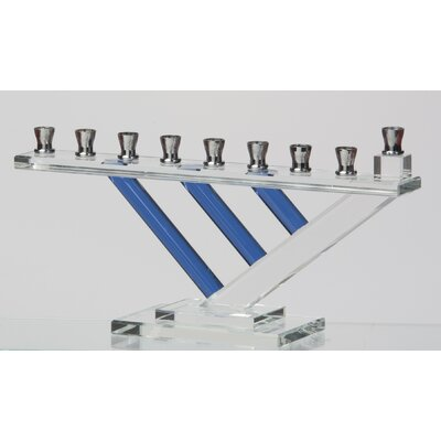 Israel Giftware Design Crystal Menorah