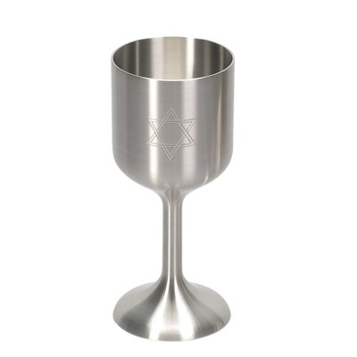 Israel Giftware Design Pewter Kiddush Cup