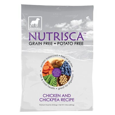 Dogswell Nutrisca Chicken and Chickpea Dog Treat