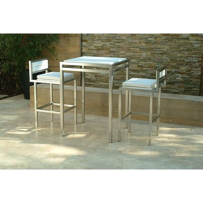 "Modern Outdoor Talt 42"" Bar Set"