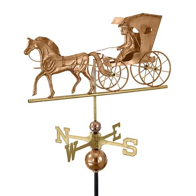 Good Directions Full Size Weathervane Country Doctor in Polished