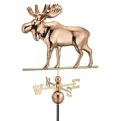 Good Directions Moose Weathervane