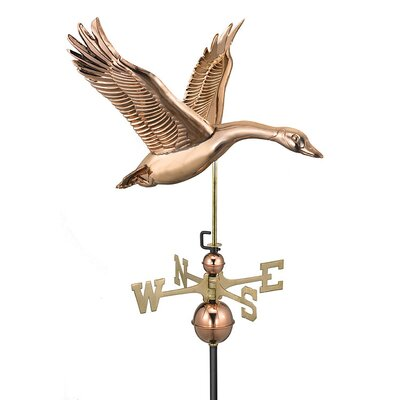 Good Directions Feathered Goose Weathervane