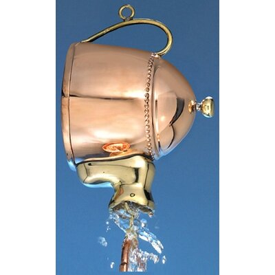 Teapot Rain Chain Leader