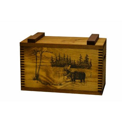 Standard Storage Box with Moose Print