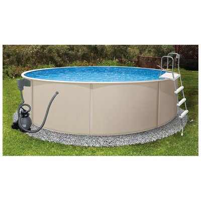 Round Rugged Steel Pool Package
