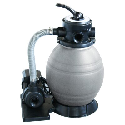 "Swim Time 12"" Sand Filter System with 0.5 Horse Power Pump"