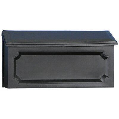 Windsor Horizontal Wall Mount Mailbox