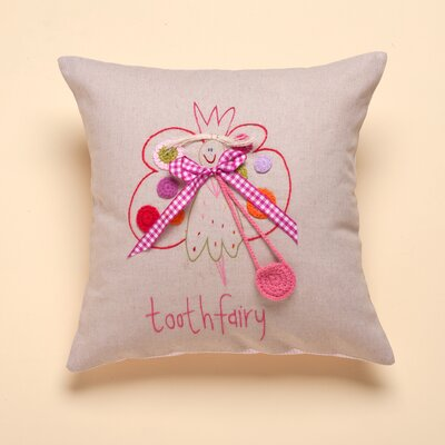 "Jacaranda Living ""Tooth Fairy"" Living Life Pillow"