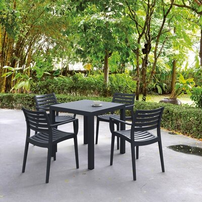 Compamia Artemis 5 Piece Dining Set