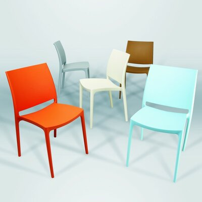 Compamia La Plaza Maya Stacking Dining Side Chair