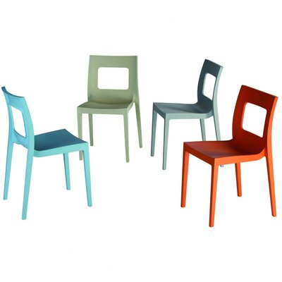 Compamia La Plaza Lucca Stacking Dining Side Chair