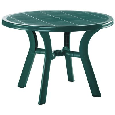 Compamia Truva Resin Round Dining Table