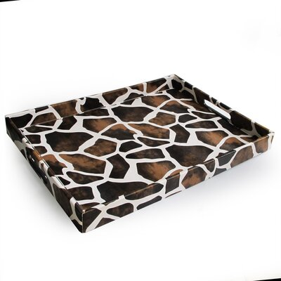 Accents by Jay Giraffe Rectangular Serving Tray