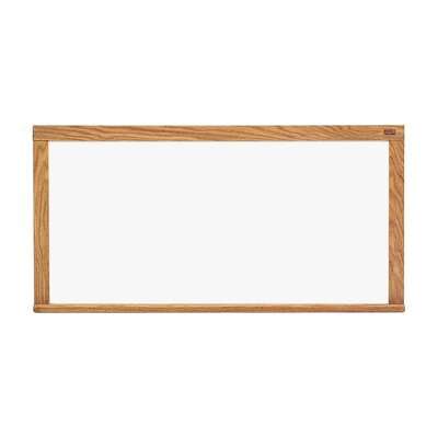 Marsh Pro-Rite Markerboards - Oak Frame 4' x 12'