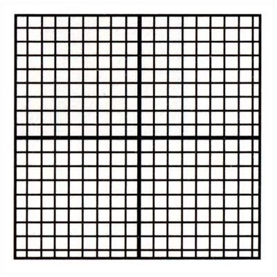 Marsh Graphics - Graph Coordinates 4' x 4' Whiteboard