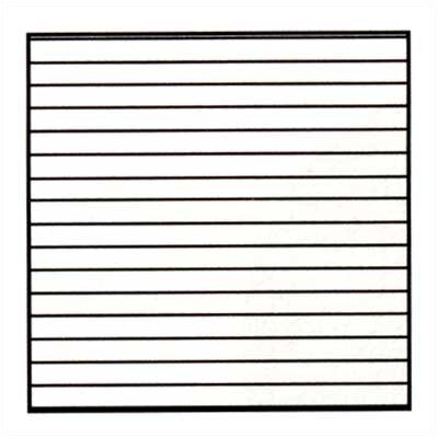 Marsh Graphics - Horizontal Lines 4' x 8' Whiteboard