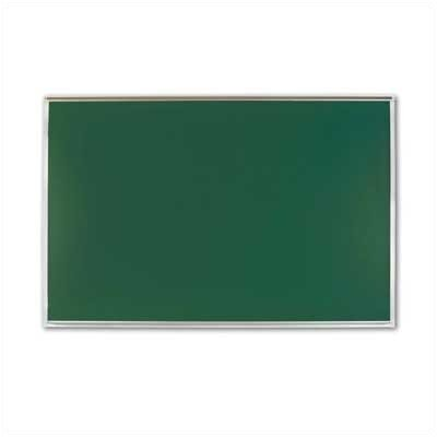 "Marsh 1"" Map Rail Chalkboards - Aluminum Frame"
