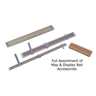 "Marsh 1-2"" Aluminum Map Rails - 3 Pack"