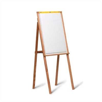 Marsh 5Solid Oak Presentation Easel with Flip Chart
