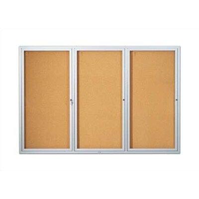 Marsh Wall-Mounted Open-Face Directory Boards - Oak