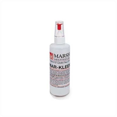 Marsh Mar-Kleen Markerboard Cleaner - Twelve (12) 8 oz. Spray Bottles