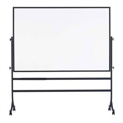 Marsh Contemporary Freestanding Reversible Boards in Black - Both Sides Composition Chalkboard