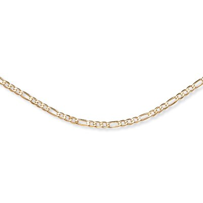 Palm Beach Jewelry Figaro-Link Necklace