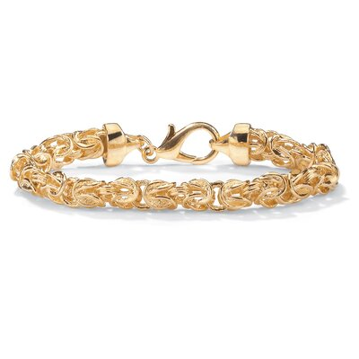 Palm Beach Jewelry Byzantine-Link Bracelet
