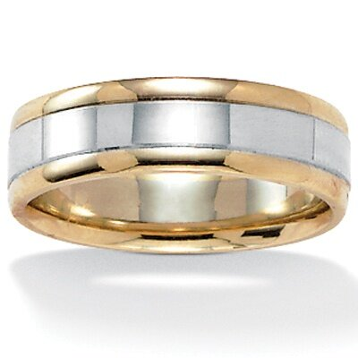 Men's 10K Gold Wedding Band Ring