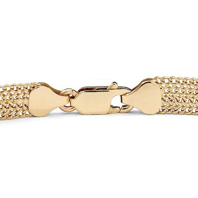 Palm Beach Jewelry Mesh Bracelet