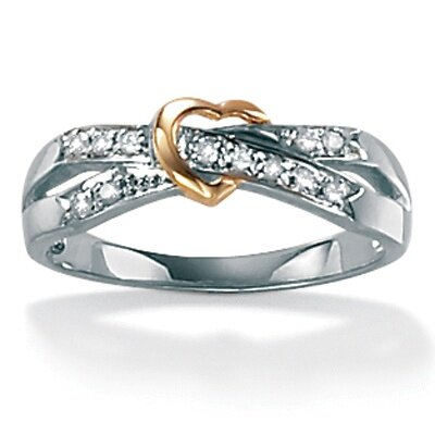 10k Gold Diamond Acc. Fashion Ring