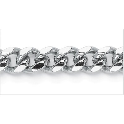 Palm Beach Jewelry Men's Curb Link Bracelet