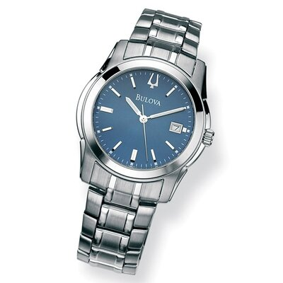 Men's Bulova Blue Face Watch