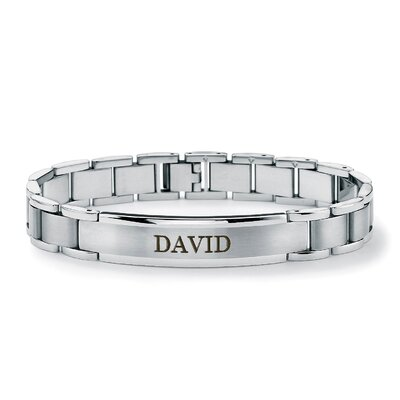 Men's Personalized I.D. Bracelet